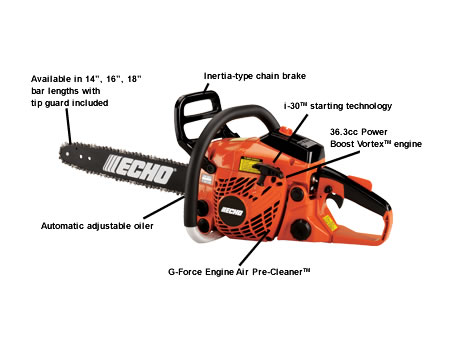 CS370-16 Chain Saw