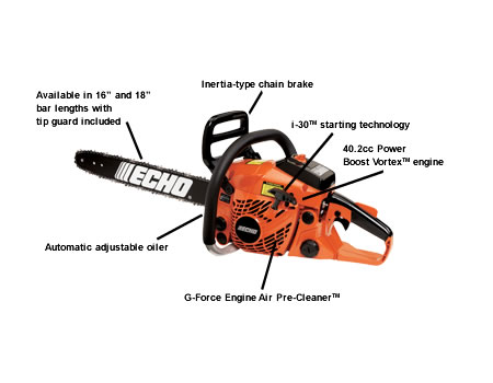 CS400-18 Chain Saw