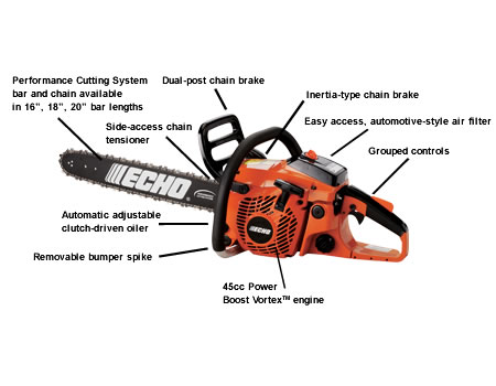 CS450P-18 Chain Saw