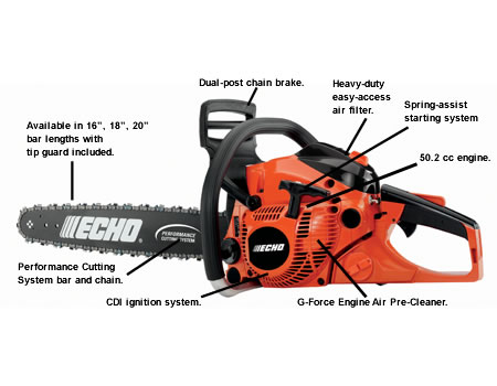 CS500P-20 Chain Saw