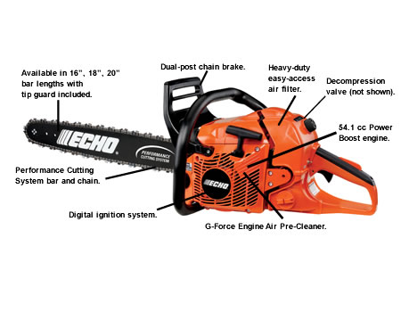 CS550P-18 Chain Saw