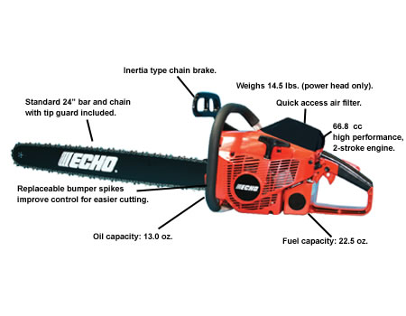 CS680-24 Chain Saw