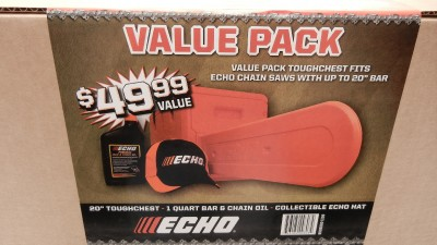 "Echo 20"" Chainsaw Value Pack- 20"" Toughchest"